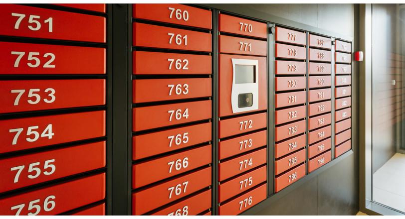 Автоматические почтовые ящики в жилых комплексах