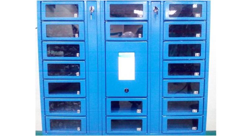 На всех предприятиях холдинга «СИБУР» установлены автоматические камеры для хранения мобильных устройств